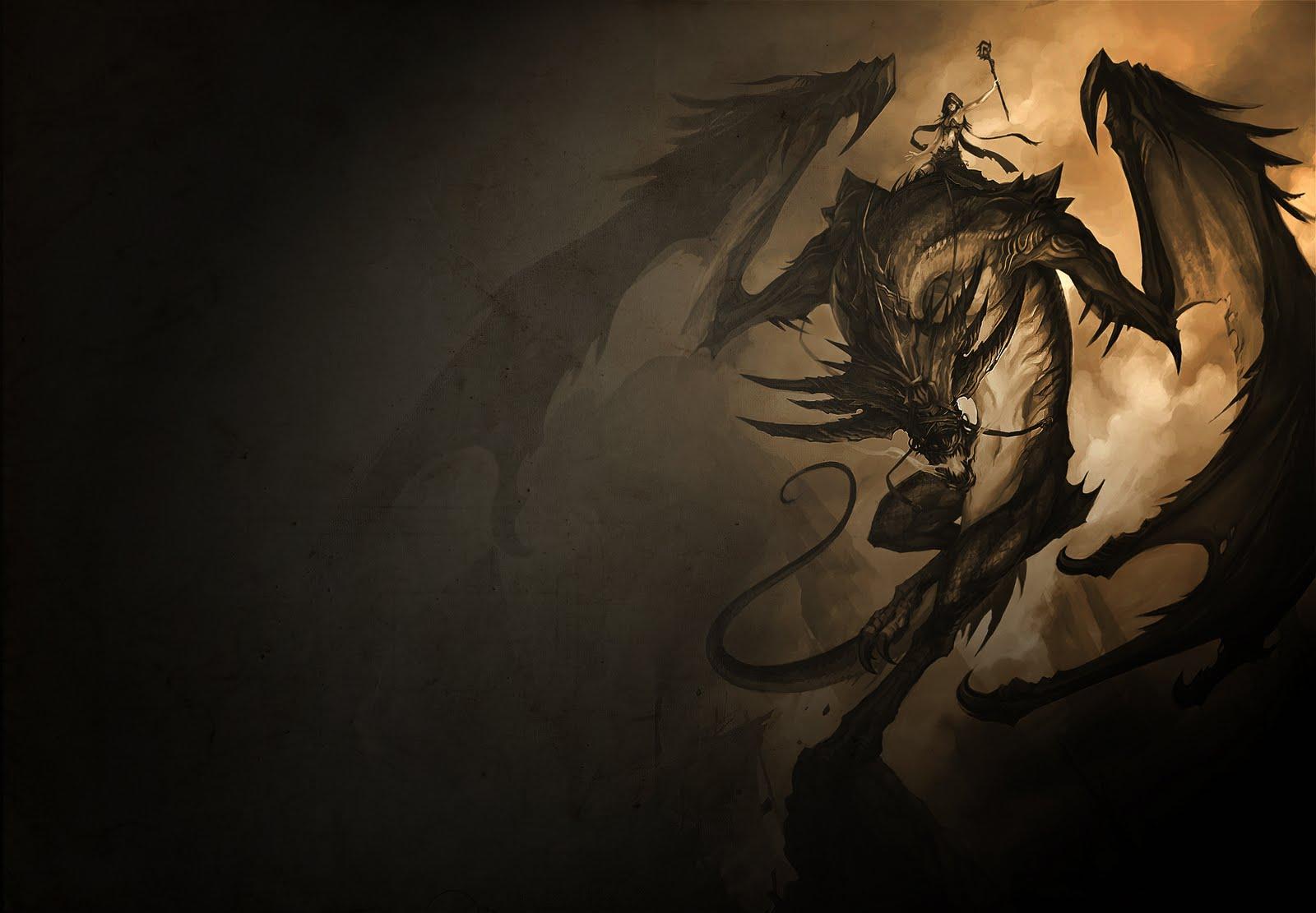 Badass Dragon Wallpaper