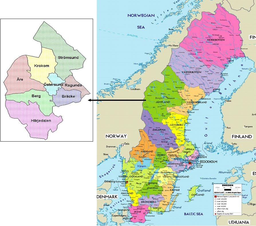 International Study Of Re Regions Jämtland County Council Sweden