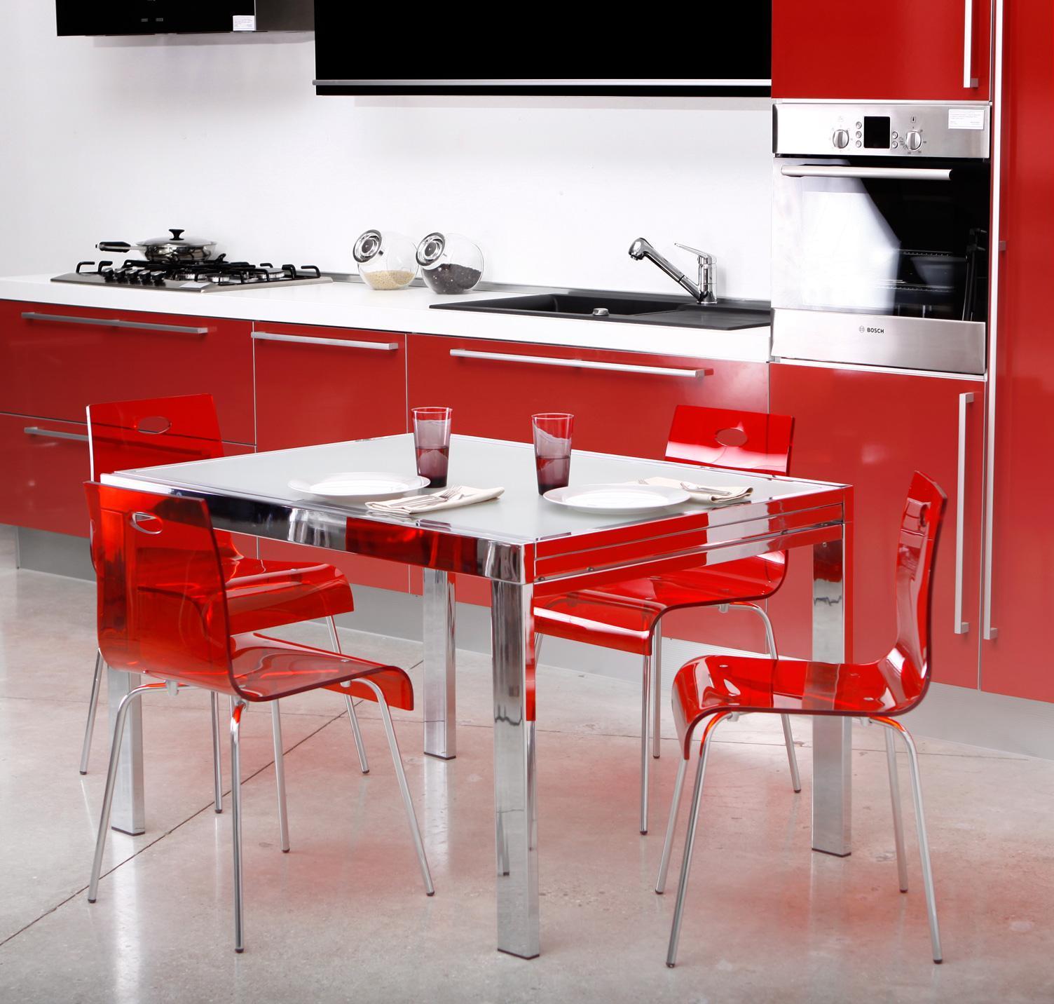 chaise cuisine salle a manger design cindy rouge transparente 10360 1 0 0 0 Résultat Supérieur 5 Nouveau Chaise Pour Table De Cuisine Image 2018 Hgd6