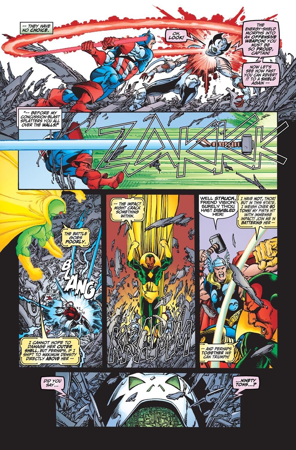 Read online Avengers (1998) comic -  Issue #19 - 17