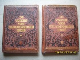 De Volken Van Nederlandsch Indie jilid I  & II  TERJUAL / SOLD