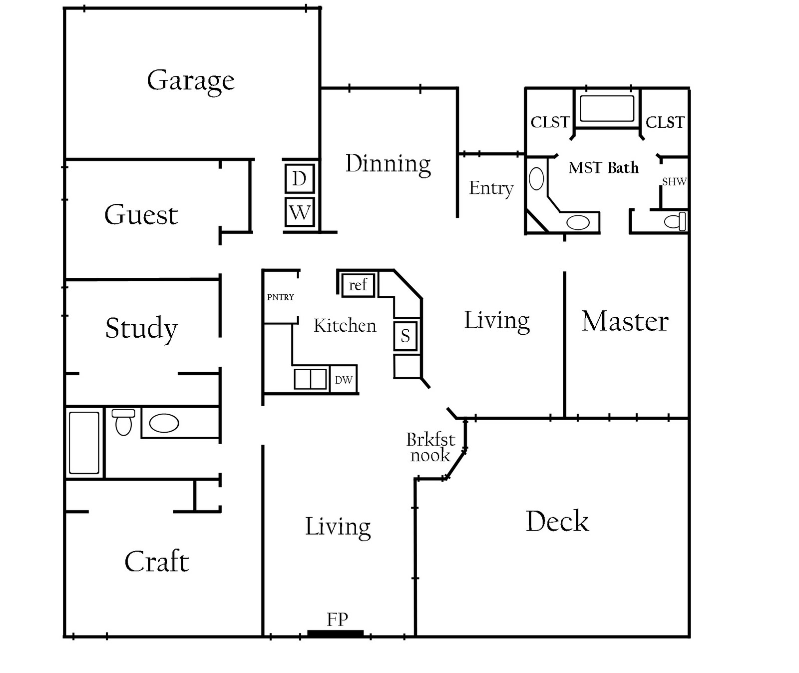 Unique Floor Plan For My House House Floor Ideas