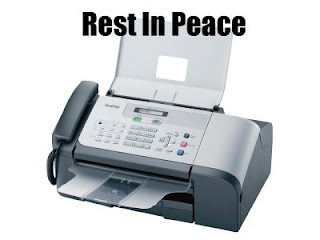 The Slow and Painful Death of the Fax Machine