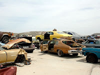North Phoenix Classic Car Junkyard
