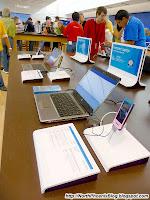 Laptops on Display