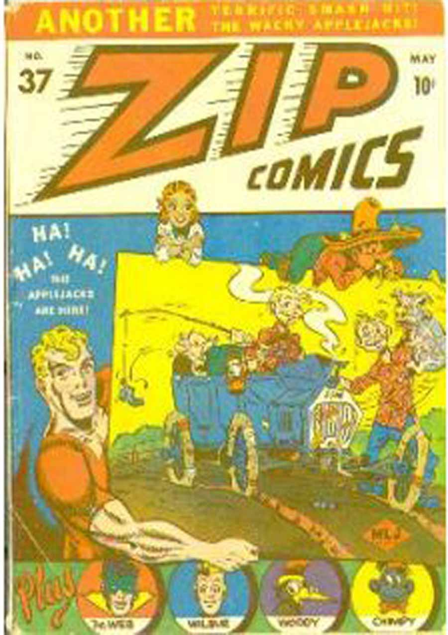 Zip Comics issue 37 - Page 2