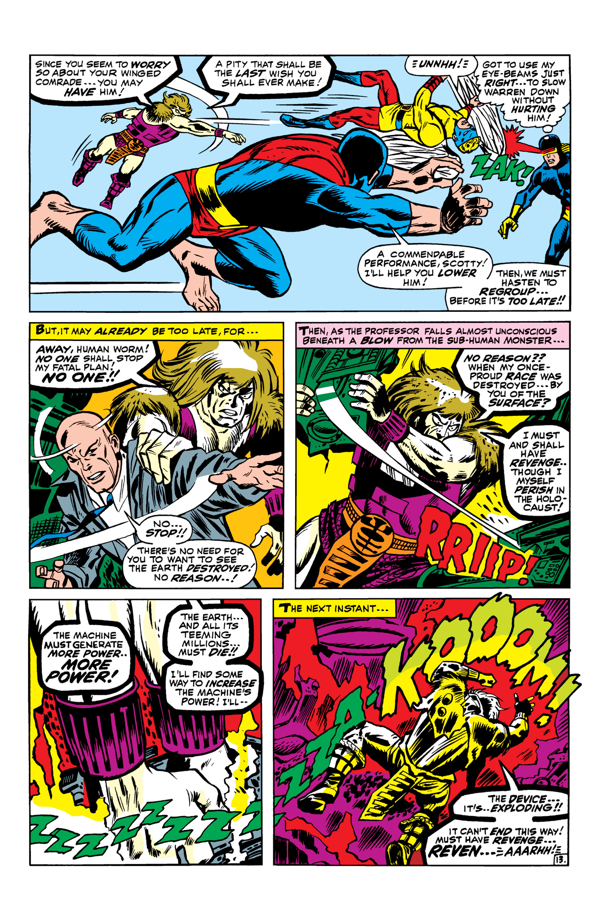 Read online Uncanny X-Men (1963) comic -  Issue #42 - 14