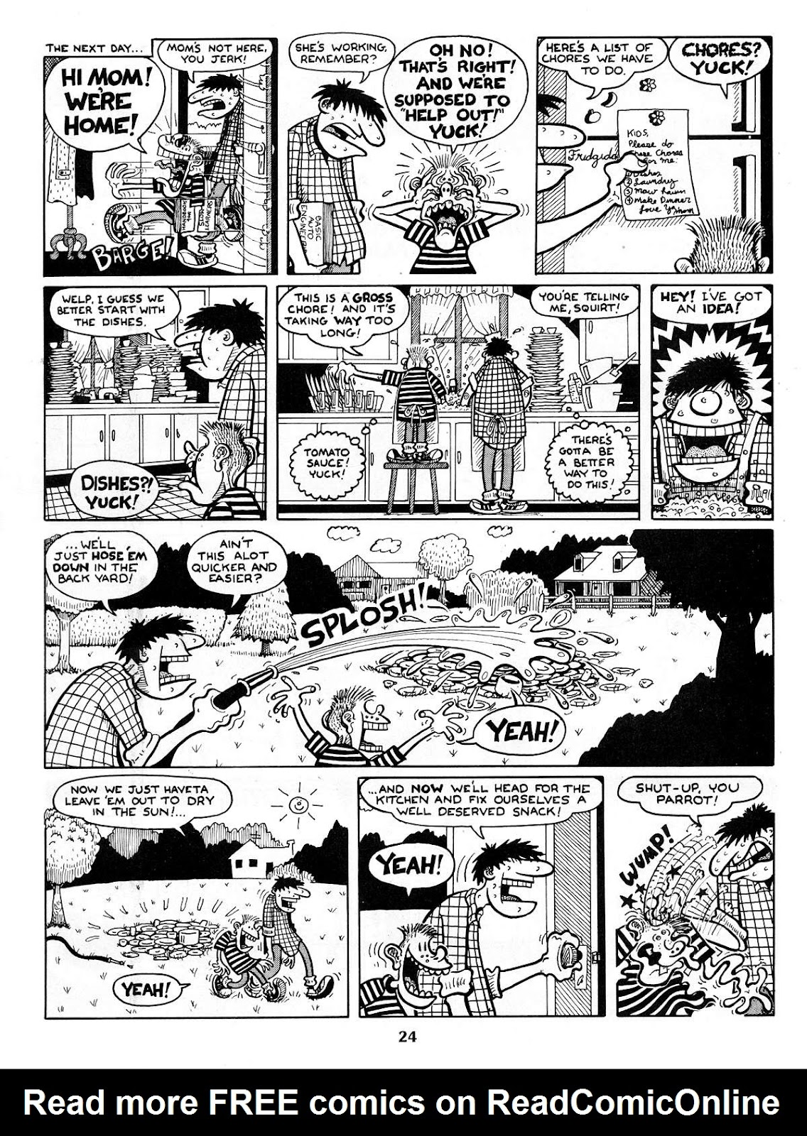 Read online Neat Stuff comic -  Issue #1 - 26
