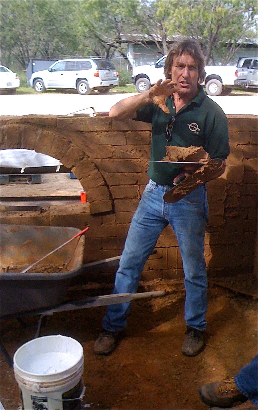 Compressed Earth Blocks In Texas : San antonio sustainable living compressed earth block