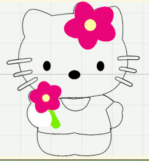 hello kitty cut out template hello kitty cut outs