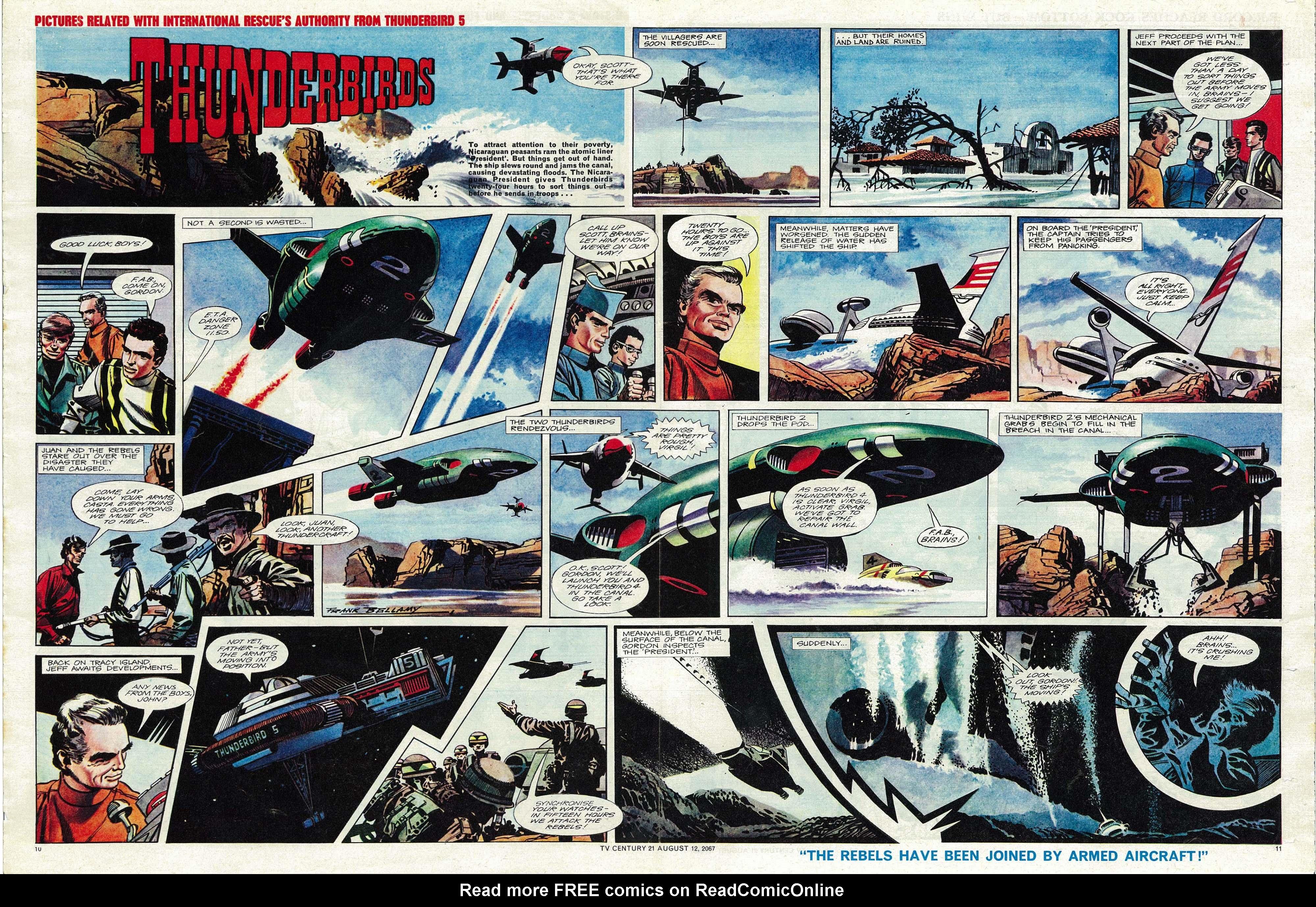Read online TV Century 21 (TV 21) comic -  Issue #134 - 10