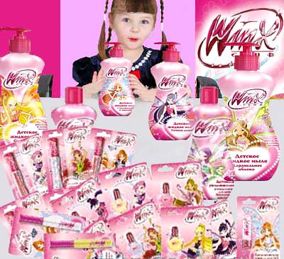 Детская косметика - Косметика и парфюмерия - Здоровье и красота.