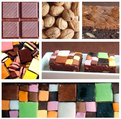 Elcuadernodeideas brownie mosaico de colores - Azulejos colorines ...