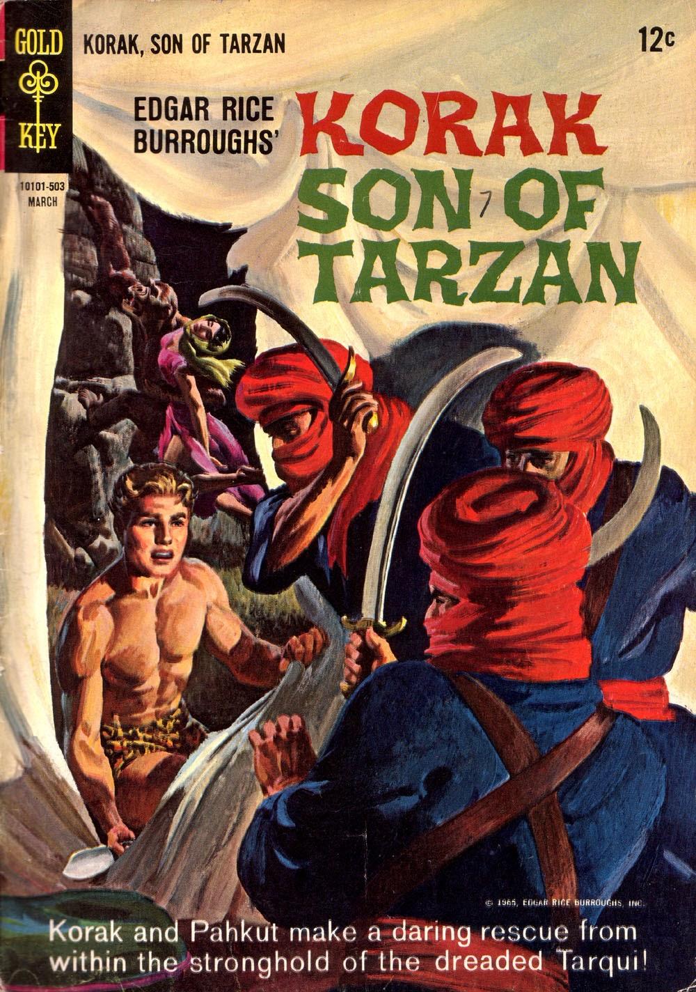 Korak, Son of Tarzan (1964) issue 7 - Page 1