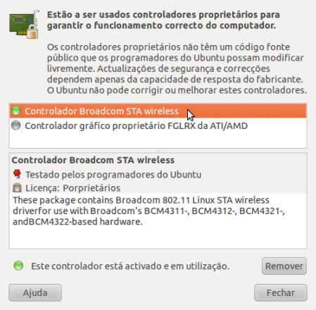 Ubuntu Broadcom wireless driver