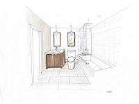 Bathroom Design Drawing