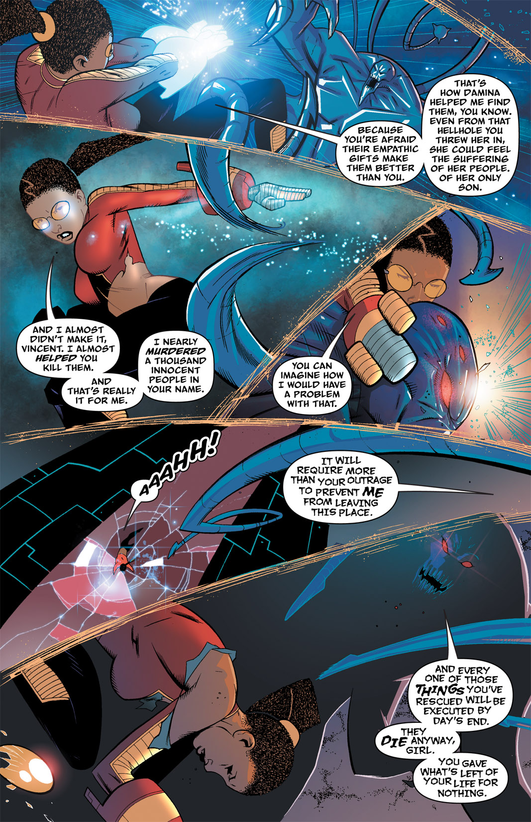 Read online The Many Adventures of Miranda Mercury: Time Runs Out comic -  Issue # TPB - 60