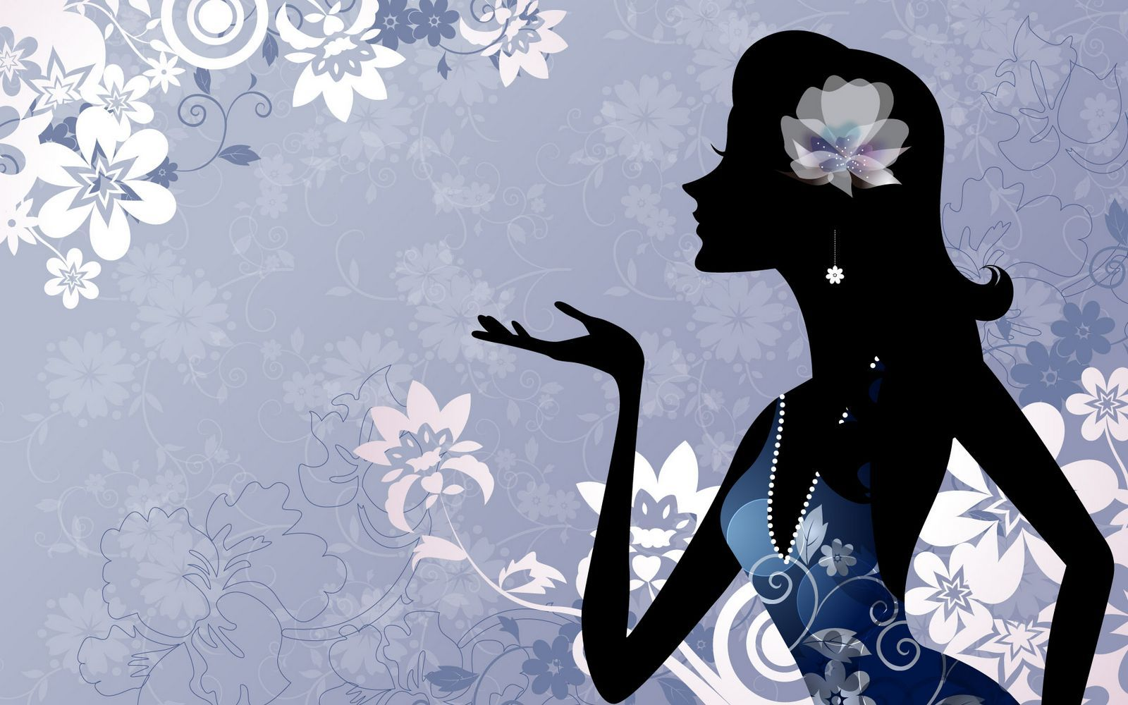 Desktop Wallpaper Quotes Love Vector Girls Illustrated Wallpapers