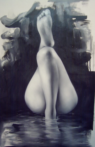 Nude Woman Portraits  Paintings  Art  Illusion 1