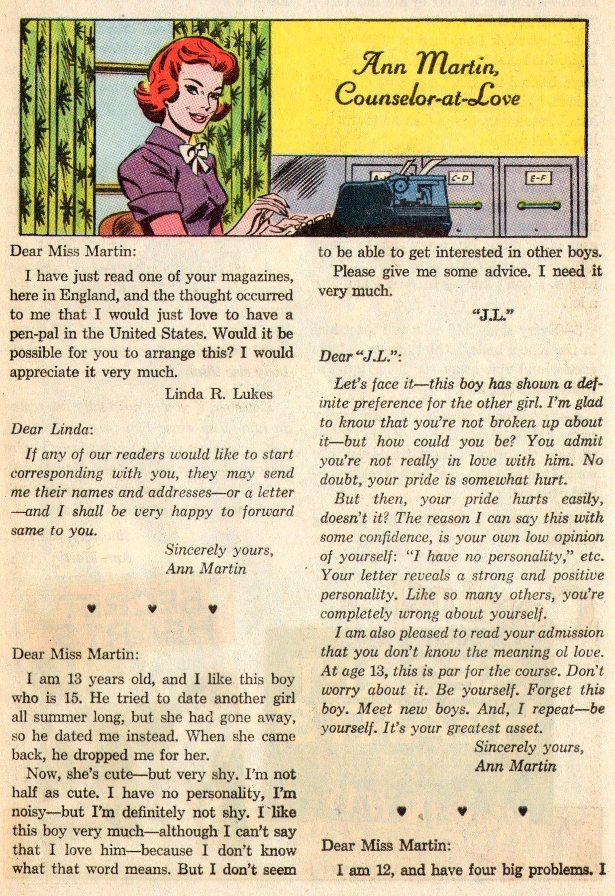 Read online Secret Hearts comic -  Issue #103 - 32