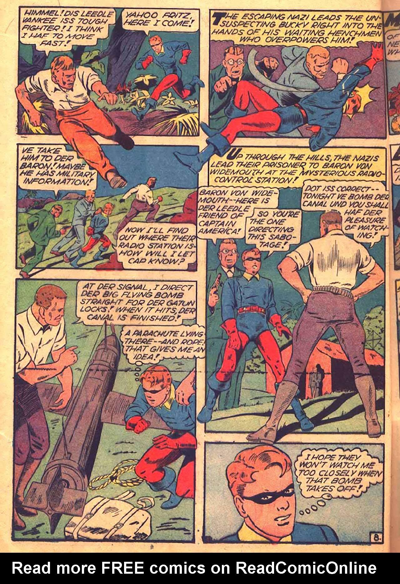 Read online All-Winners Comics comic -  Issue #9 - 23