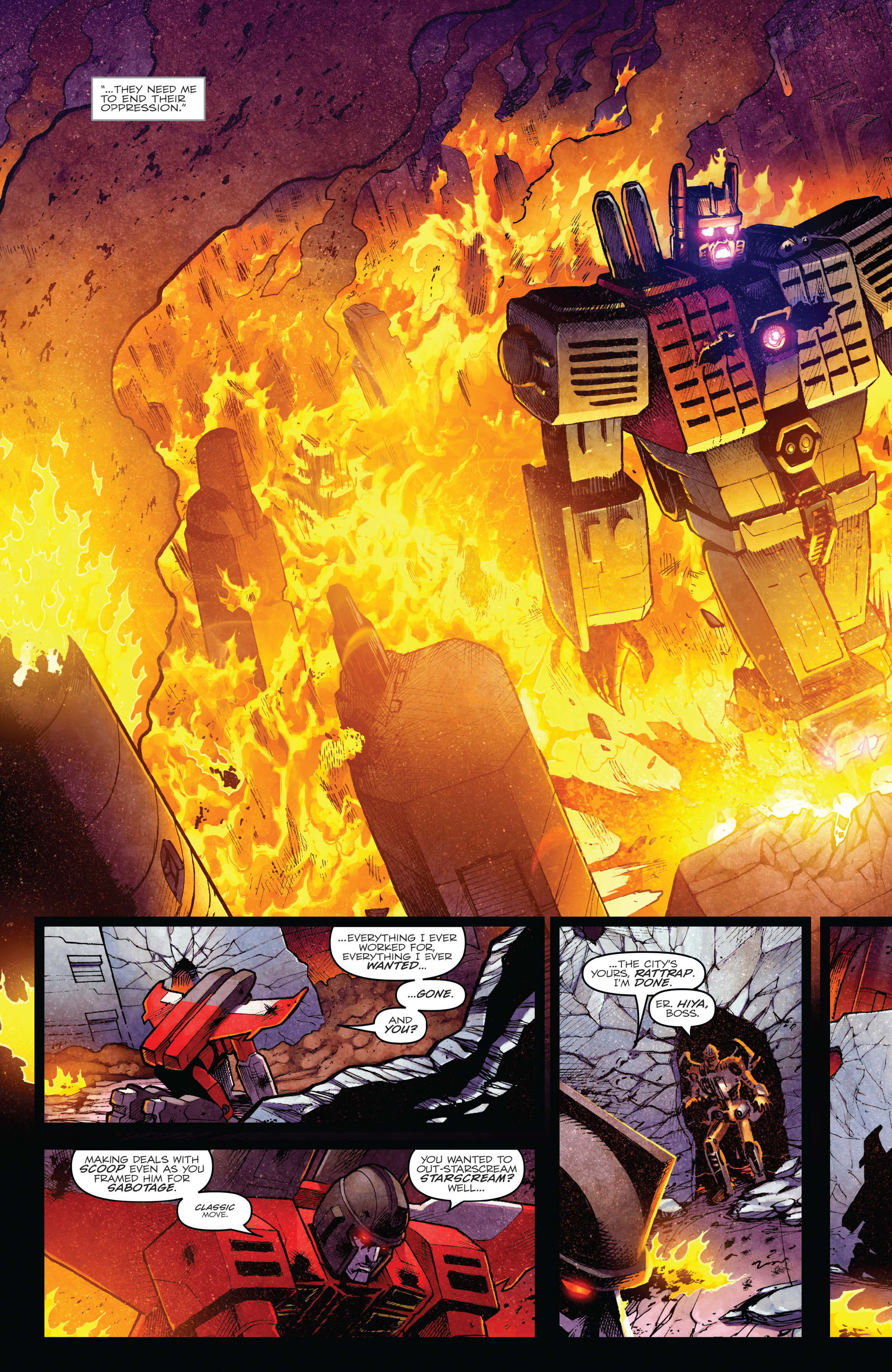 Read online The Transformers: Dark Cybertron Finale comic -  Issue # Full - 31
