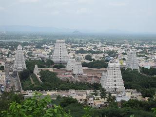 Arunachaleswarar temple in Tiruvanamalai
