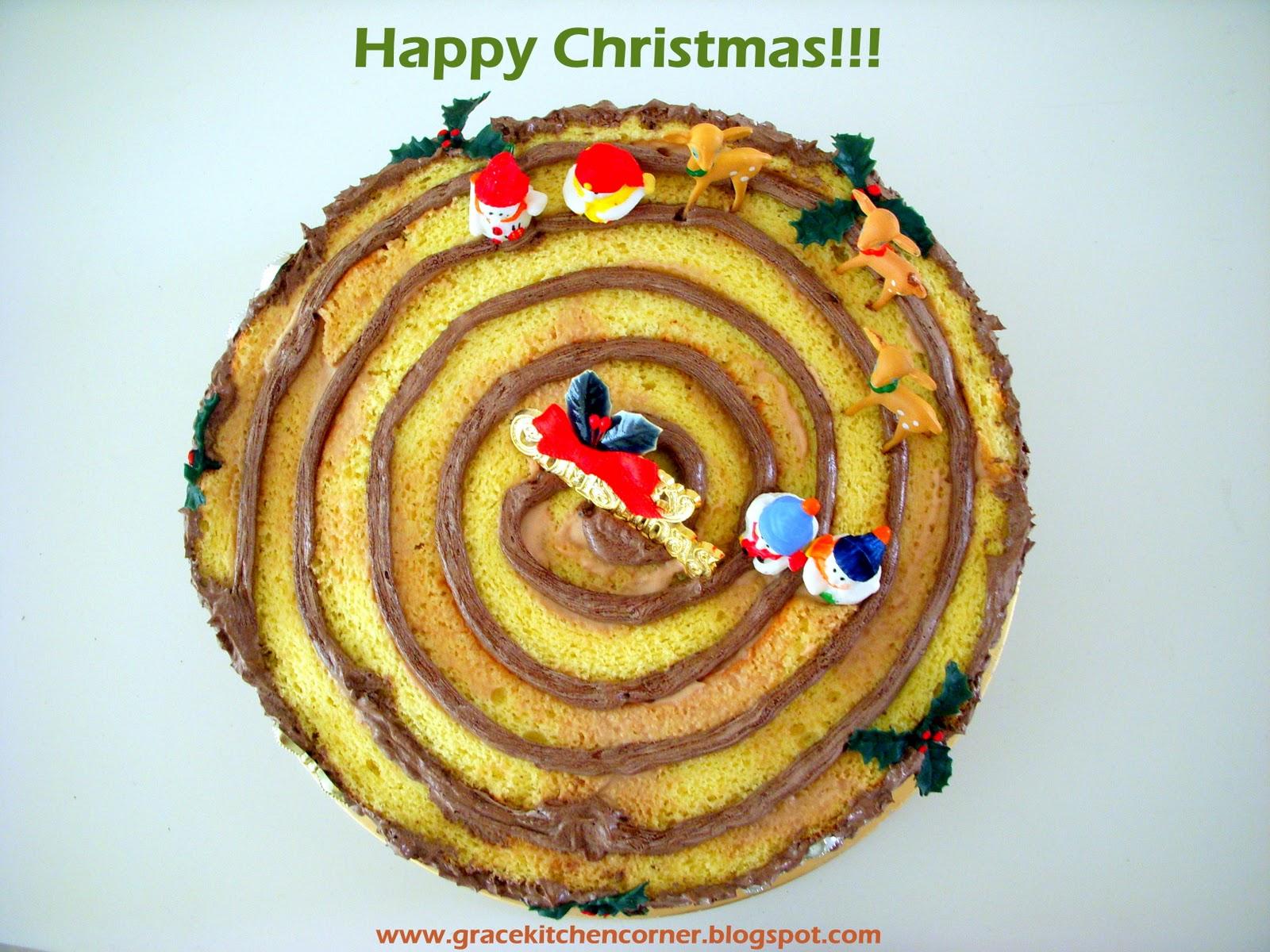 Log Cake Recipe Joy Of Baking: Kitchen Corner: Christmas Log Cake