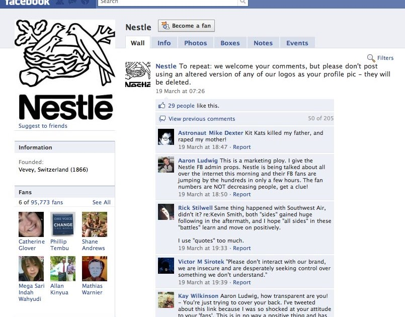 Everything About Public Relations: Nestle's Social Media Crisis