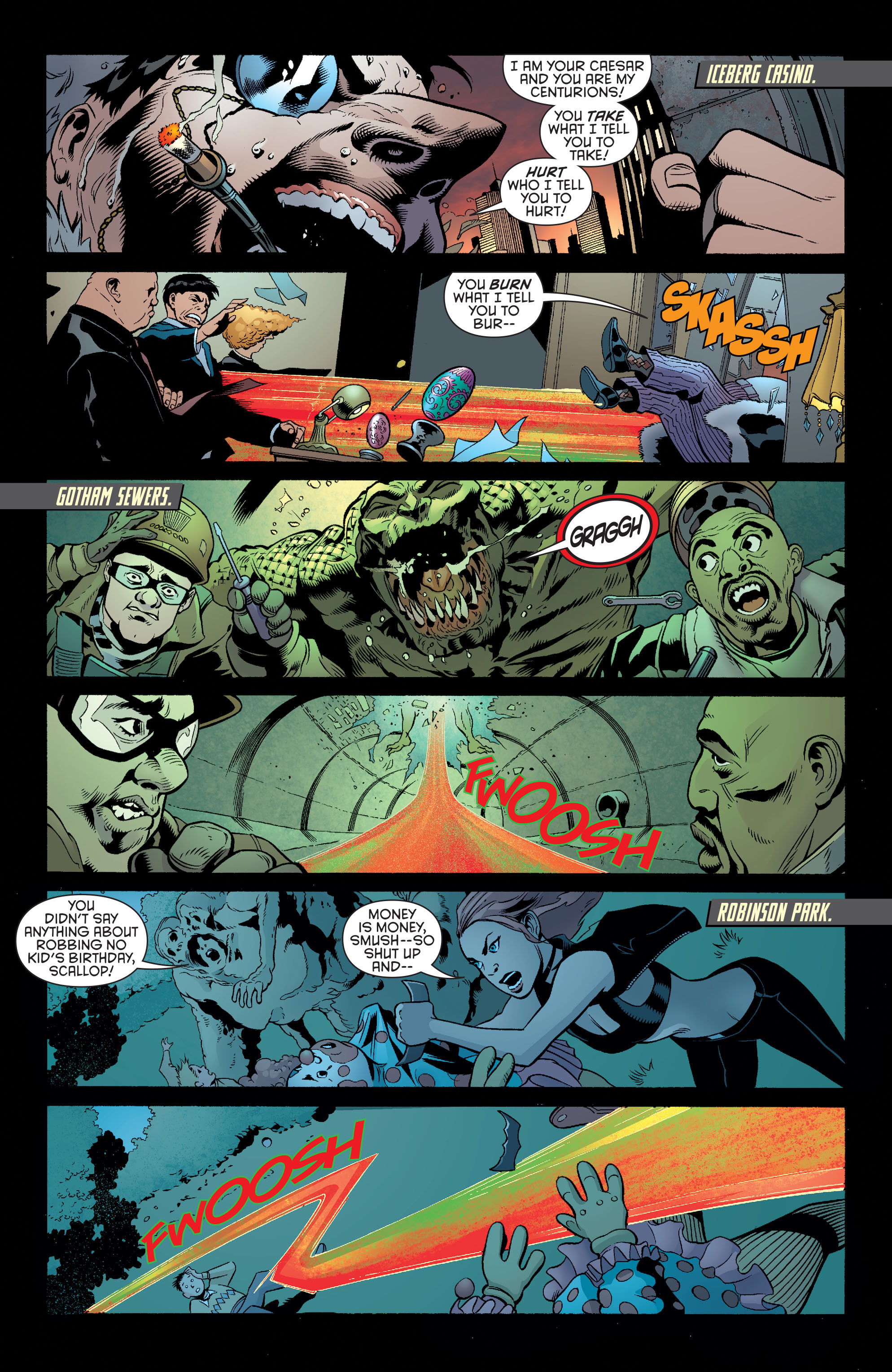 Read online Batman and Robin (2011) comic -  Issue #39 - 2