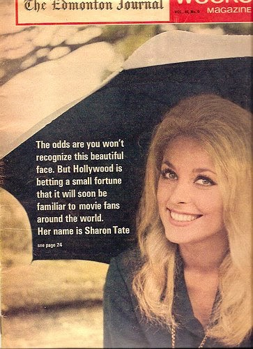 Glamour A Go Go Sharon Tate Vintage Magazine Covers Part 2