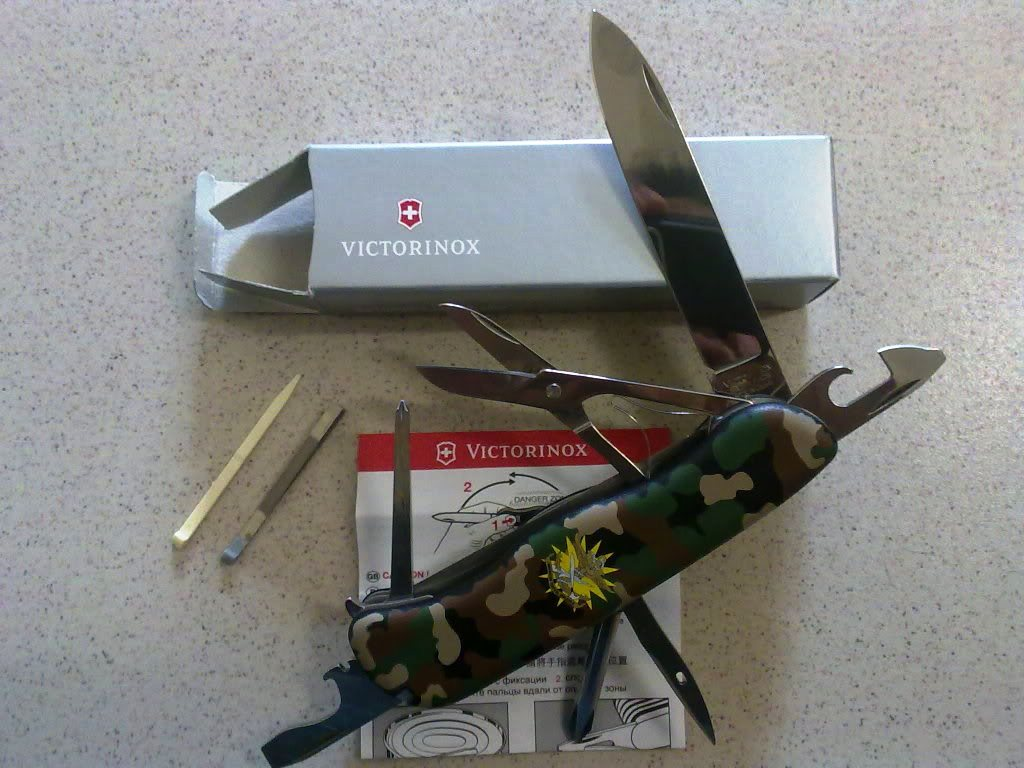 Padanghuma Victorinox Swiss Army Knife Outrider