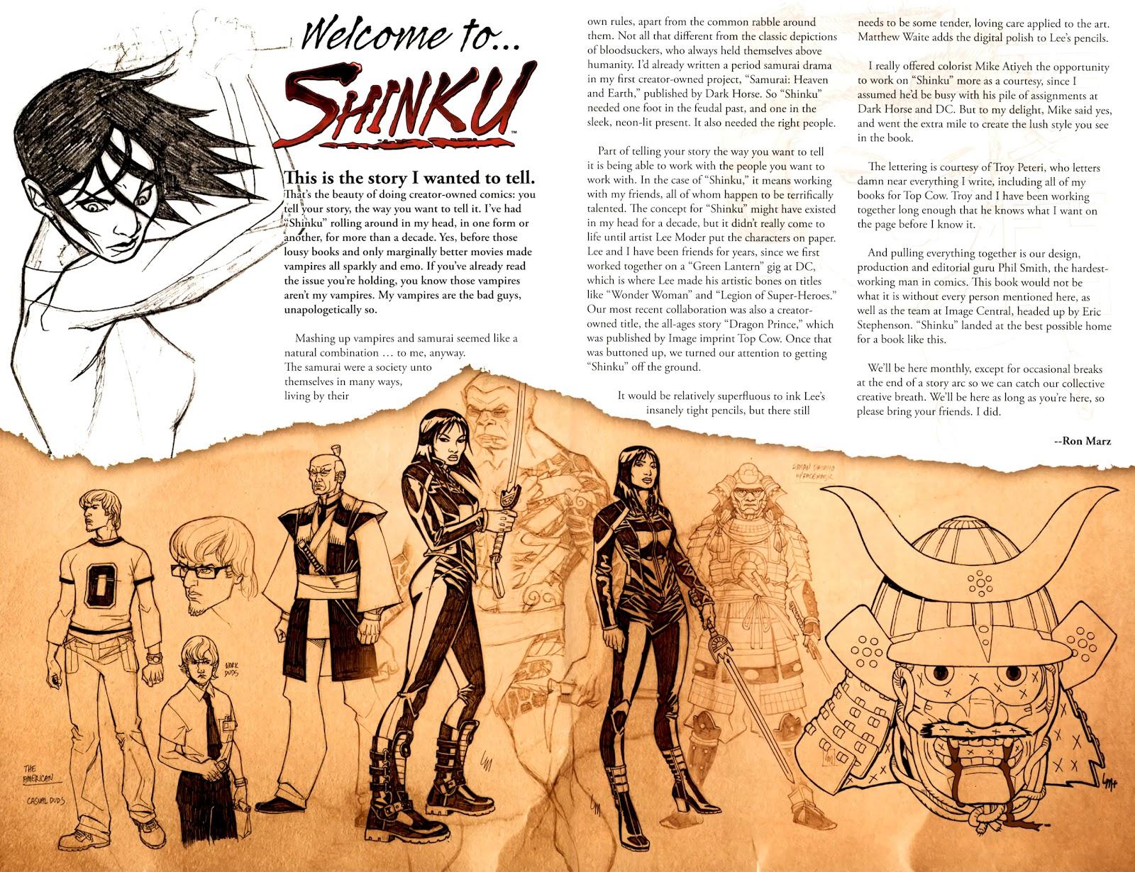 Read online Shinku comic -  Issue #1 - 23