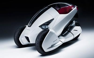 MINUTIA - Microcars & Minicars: Honda Three-Wheeler Concept