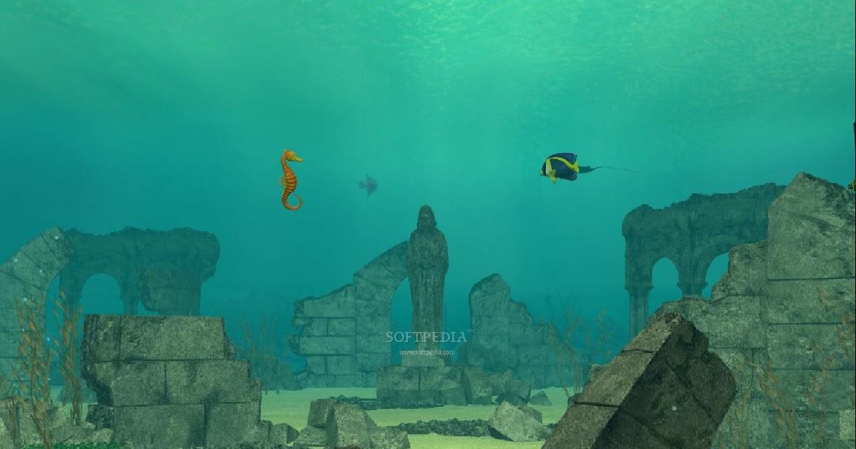 Pakmasti Underwater Ruins Animated Wallpaper 1