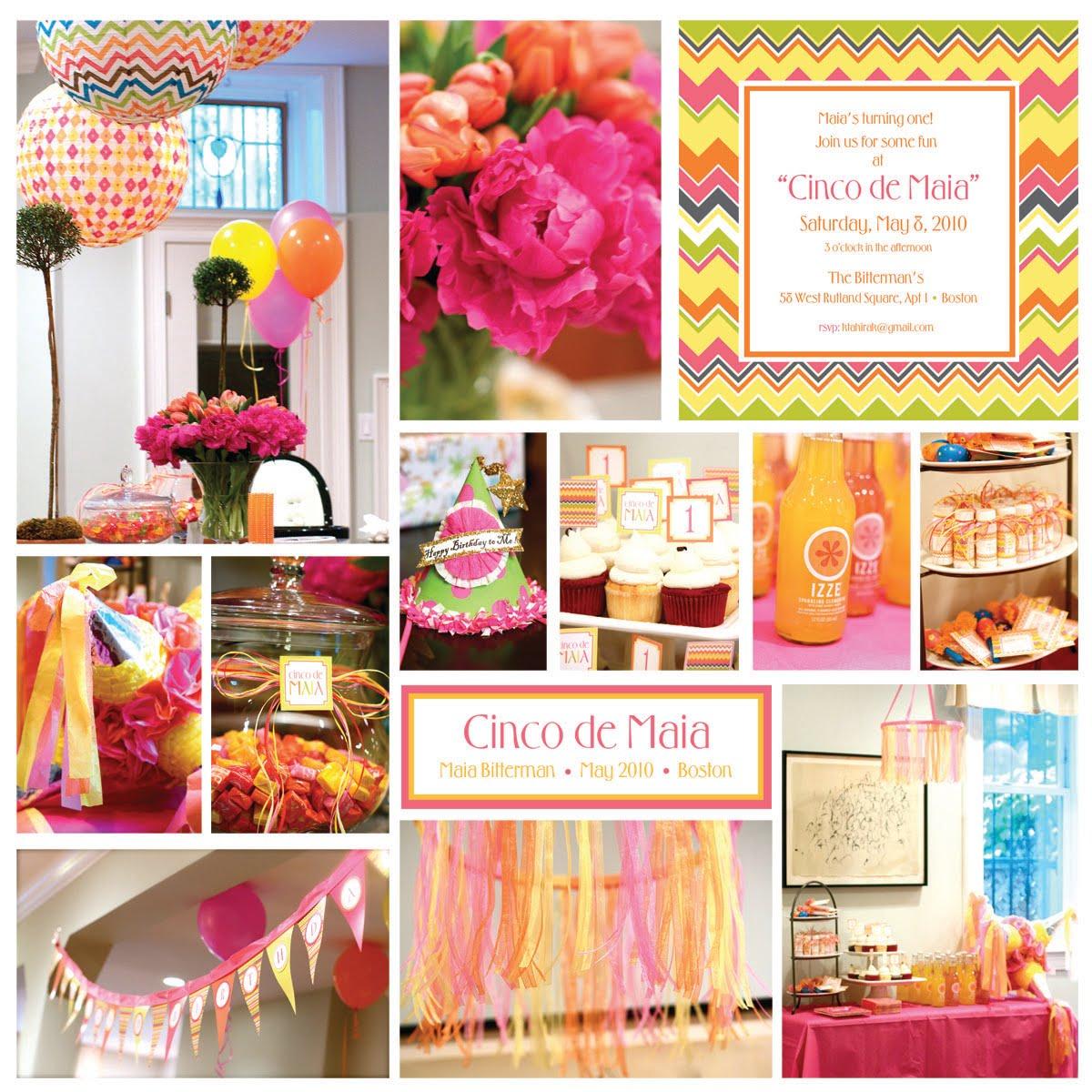 Kara S Party Ideas Cinco De Maia Mayo 1st Birthday Party