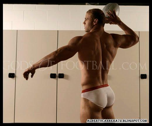 Jugadores de fútbol Australianos de fútbol al desnudo. Australian Football Soccer Players Naked