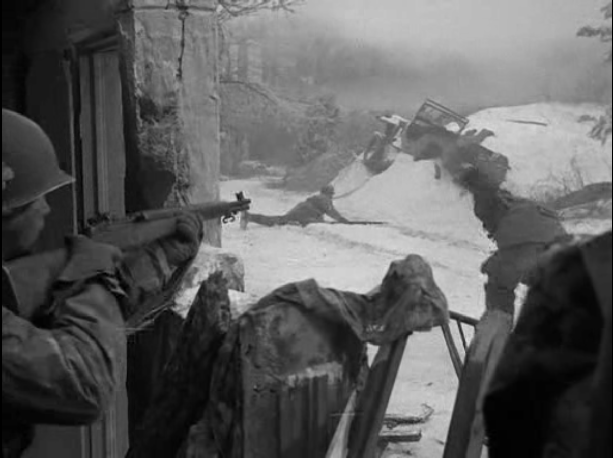 Jim Browne Jeep >> Battleground (1949) Movie