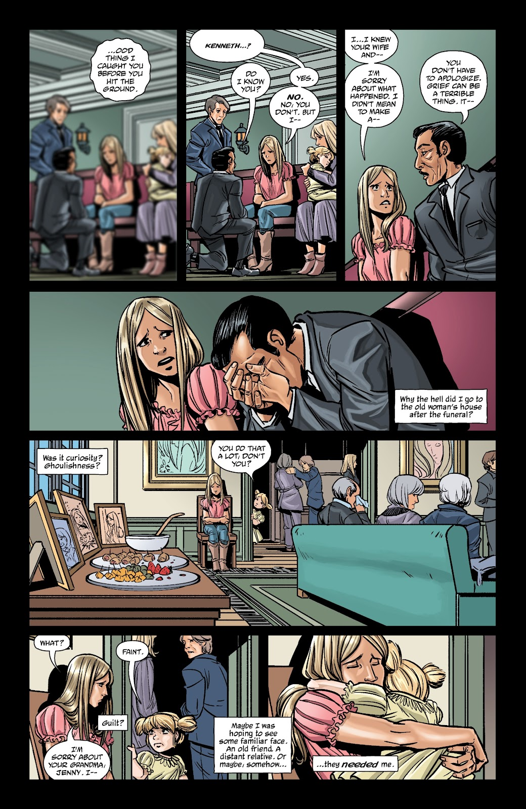 Read online The Girl In The Bay comic -  Issue #2 - 23