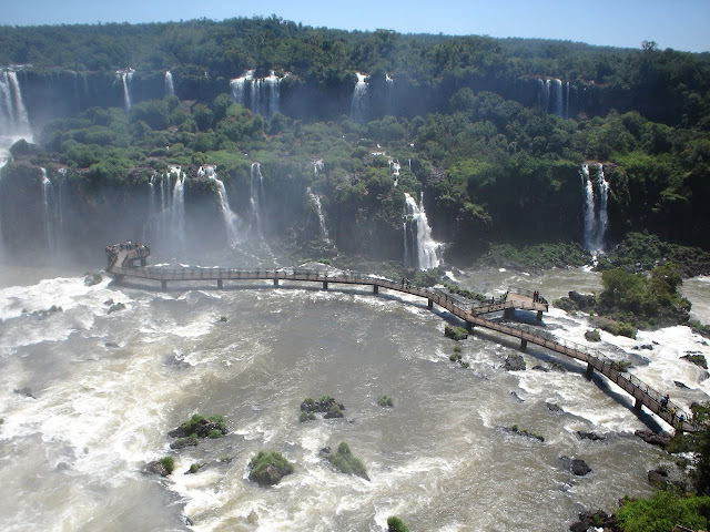Passarelas das Cataratas do Iguaçu