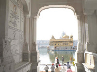Golden temple entrance Amritsar