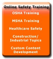 Online OSHA Safety Training Courses