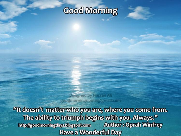 Self Improving Inspiring Quotes: Good Morning Saturday.. 8 ...