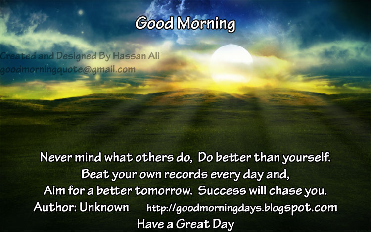 Self Improving Inspiring Quotes Good Morning Saturday 8 Inspiring Beautiful Quotes For The Day