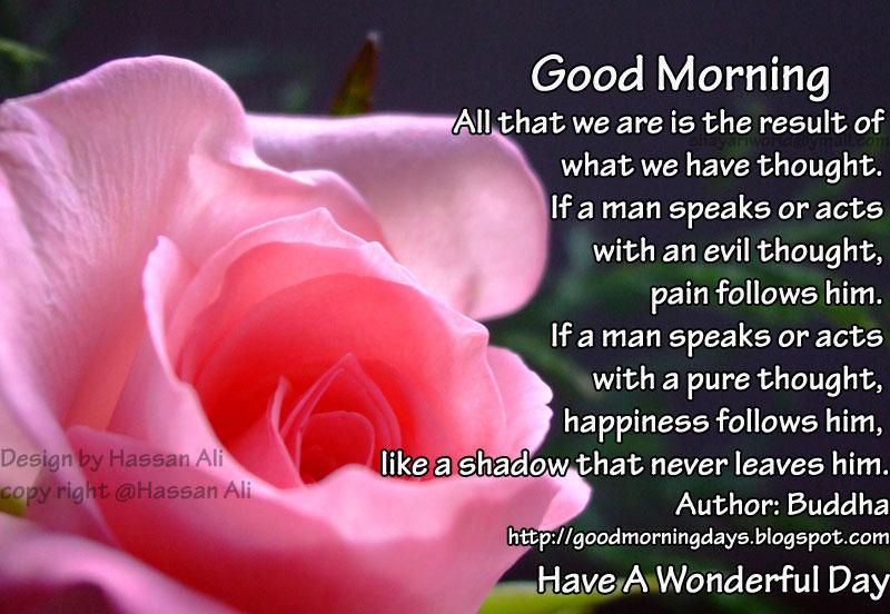 Self Improving Inspiring Quotes: Good Morning Saturday. 8