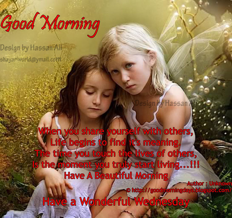 Good Morning Days Good Morning Wednesday Inspiring Quotes For The Day