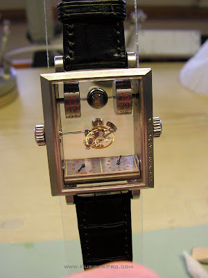 Thomas Prescher's Mysterious Automatic Double Axis Tourbillon