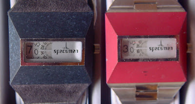 SPACEMAN-TIME CONTINUUM - The Spaceman Watches of 1972-77