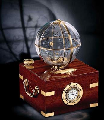 CLOCK WISE - Ulysse Nardin Planet Earth Desk Clock