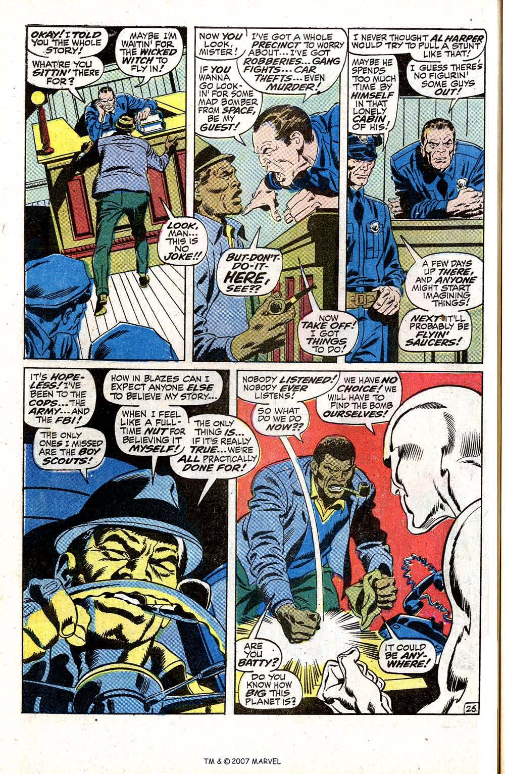 Read online Silver Surfer (1968) comic -  Issue #5 - 32